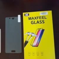MAXFEEL Tempered Glass Nokia 8 Nokia8 Clear Premium Glass