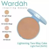 Wardah Lightening Two Way Cake Refill / Refil Bedak Wardah