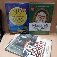 buku 37 masalah populer 99 tanya jawab seputar shalat 76 dosa besar