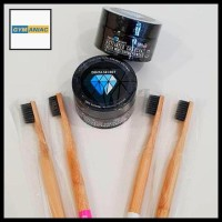 Denta Secret Charcoal Whitening Teeth Super White Light Carbon Coco