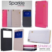 Nillkin sparkle leather case / flipcover Lenovo K3 Note / A7000