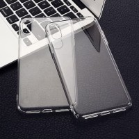 Silicone Iphone X XS Soft clear case casing cover bening transparan