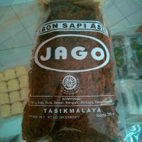 Abon Jago 250 gr Tanpa Bawang goreng