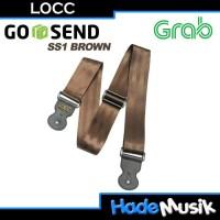 LOCC Standard Strap SS1 Untuk Gitar dan Bass ( Coklat )