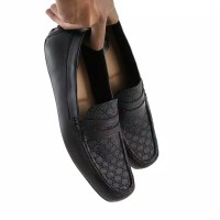 sepatu casual slip on Loafers Pria Formal kerja kantor