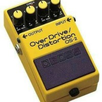 BOSS OS2 / OS-2 / OS 2 Overdrive Distortion Efek Gitar Pedal Stompbox
