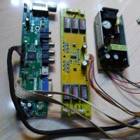 PAKET MESIN TV LCD MERK CHINA 20 INCH