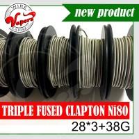 Tripel Fused clapton 28*3+38g | 1 Meter