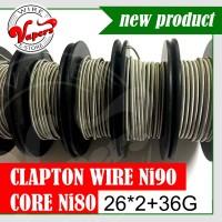 Ni90 Core Ni80 Fused Clapton 26*2+36g