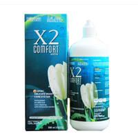 Cairan pembersih softlens X2 COMFORT 500 ml