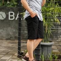 Celana Pendek Chino#Bukan Joger - Hitam, 27