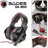 PROMA Headset Gaming SADES SA-903 Usb With Mic For Pc Notebook SA 903