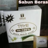 sabun beras susu (sabun kecantikan alami)