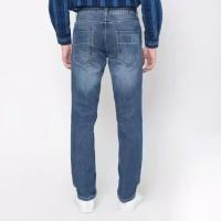 EMBA JEANS-rodensi one celana panjang pria warna heavy stom-biru 27