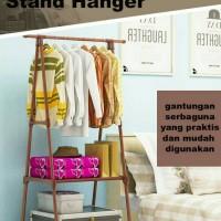 Triangle Stand Hanger / Stand Hanger gen 2 Gantungan Baju Multifungsi