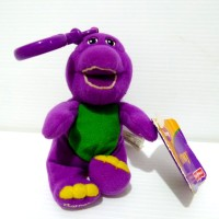 Gantungan Boneka Barney Original Fisher Price