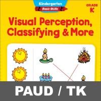 Visual Perception Classifying Buku Aktivitas Anak PAUD TK Mewarnai