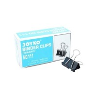 Penjepit Kertas/Binder Klip/Binder Clip No.111 Joyko