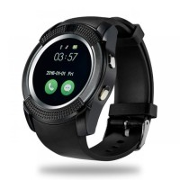 Smartwatch V8 support sim card dan memory card + camera