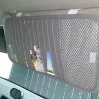 Sun Visor Interior Mobil / Organizer Car Bag / Dompet CD DVD