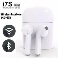 Headset Bluetooth Earphone 4.2 sport wireless Airpods HBQ i7S