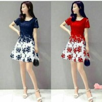 DRESS FLOWER BRUKAT//4WRNA RECOMMEND9