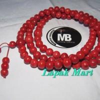 Tasbih Khasiat RED CORAL 108 Biji 10 mm in LM