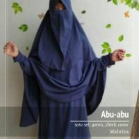 FREE ONGKIR!! Set gamis jilbab cadar wolfis syari murah keren open