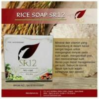 Rice soap sabun beras SR12 Garansi original