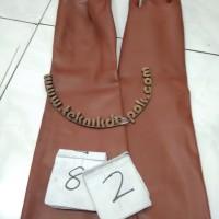 sarung tangan karet lentur sarung tangan panjang 69 cm SAMPE LENGAN