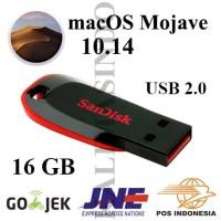 USB Flashdisk 2.0 16GB Installer macOS Mojave 10.14 for Mac