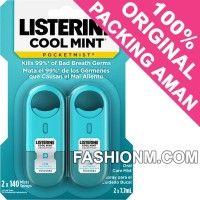 Listerine Pocketmist Oral Care Mist - Cool Mint 2pcs
