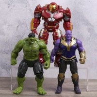 MAINAN ACTION FIGURE THE AVENGERS THANOS HULK BUSTER SET ISI 3
