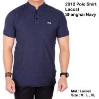 polo shirt pria polos / kaos polo / baju polo pria navy blue kerah