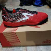 Sepatu Futsal Specs Metasala Warrior Primer Red Original