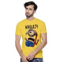 Fantasia T-Shirt Pria Minion Stuart - Kuning