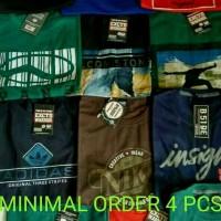 Grosir Kaos Distro Murah Min 4 pcs (Size L)
