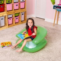 Sofa Angin Anak Transparent Child's Chair Bestway #75006 - Hijau
