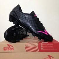 Sepatu Bola Specs Accelerator Exocet FG Black Original