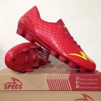 Sepatu Bola Specs Accelerator Exocet FG Dark Red Original