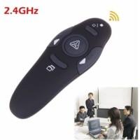 Alat Presentasi Powerpoint Pointer Laser Pen Wireless USB