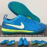 Sepatu Futsal Nike Mercurial X Finalle ll Neymar Orbit Blue IC