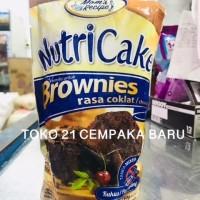Nutricake Brownies Rasa COKLAT 1 PCS | Nutri Cake Cokelat Kue Kukus