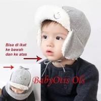 Topi Anak Bayi Crown Hat Mahkota Lucu