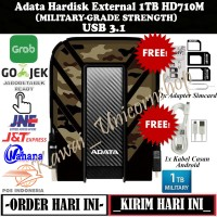 Adata HD710M Military Pro 1TB - Hardisk Eksternal External Antishock