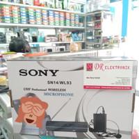 Mic Microphone Mik Wireless Sony Jepit dan Bando SN-14 SN14 / WL93
