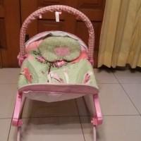 Sugar Baby Bouncer - Little Owl - Premium Rocker - GOJEK ONLY