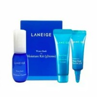 Laneige Water Bank Moisture Trial Kit( 3items)