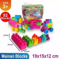 [MAINAN ANAKONSHOP] Mainan Susunan Block Isi 52pcs Mainan Anak OCT920