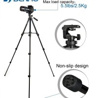 Benro T560 Tripod For DSLR And Mirrorless Camera FREE HOLDER HP 0666